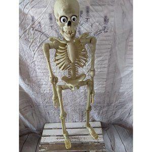 """35"""" Gemmy talking animated skeleton 3 ft large Hal"""